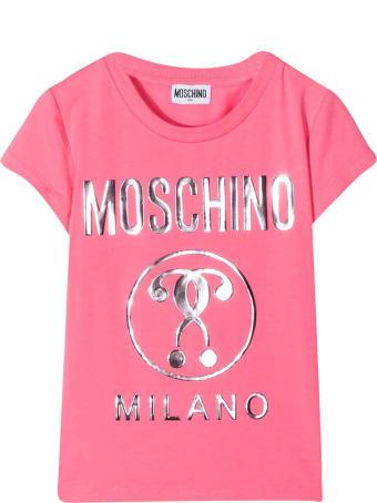 Moschino Teen Pink T-shirt