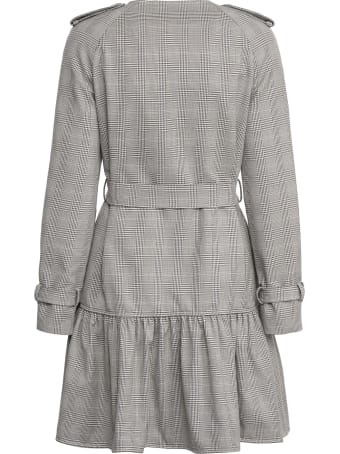 Boutique Moschino Prince-of-wales Checked Coat