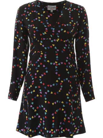 HVN Rainbow Hearts Mini Dress