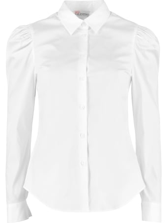 RED Valentino Stretch Poplin Shirt