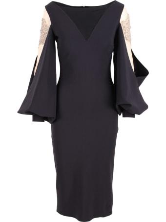 La Petit Robe Di Chiara Boni La Petit Robe By Chiara Boni 'nala Illusion' Polyamide Dress