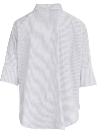 19.70 Nineteen Seventy Striped 3/4s Shirt