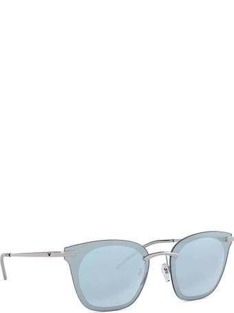 Emporio Armani Emporio Armani Ea2075 Silver Sunglasses