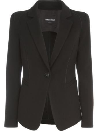 Giorgio Armani Wool Single Breasted Jacket