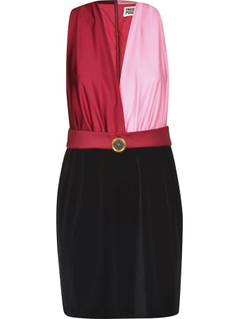Fausto Puglisi Sleeveless V-neck Dress