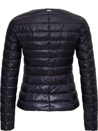 Herno Lightweight Nylon Black Jacket