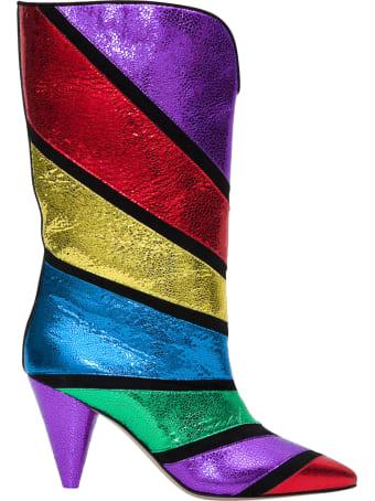 The Attico Betta Multicoloured Boots