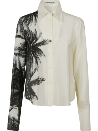 Ermanno Scervino Tropical Print Shirt