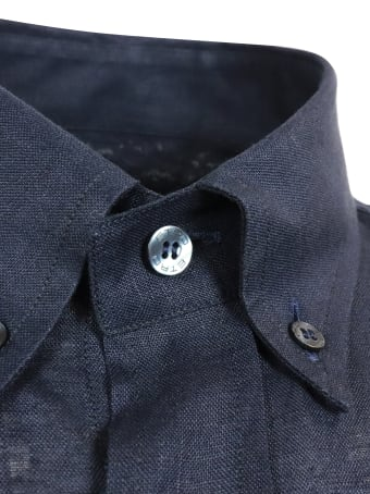 Etro Camicia Bd Logo Regular Shirt