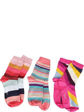 Paul Smith Three-pack Striped Socks