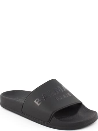 Balmain Black Sandals