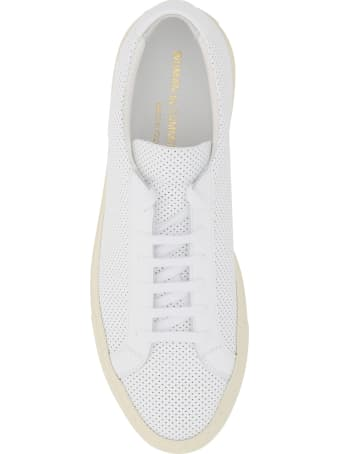 Common Projects Achilles Low Perforated Leather Sneaker