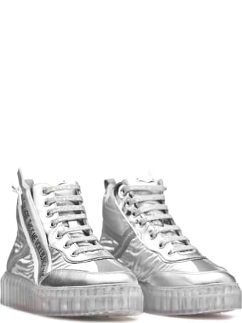 Voile Blanche Voile Blanche Spry High Silver Sneakers