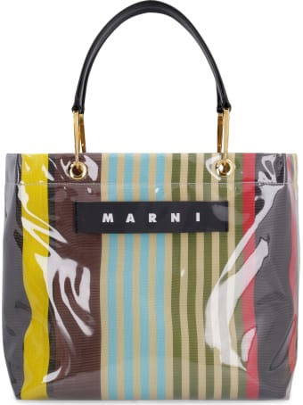 Marni Glossy Grip Tote Bag