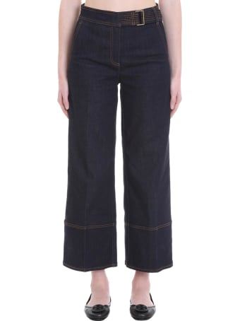 Tory Burch Jeans In Blue Denim
