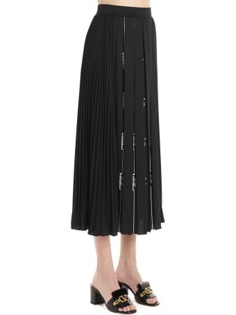 Valentino 'signature Logo' Skirt