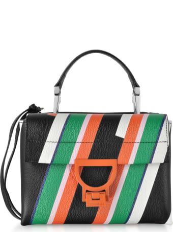 Coccinelle Arlettis Stripes Mini Bag W/shoulder Strap