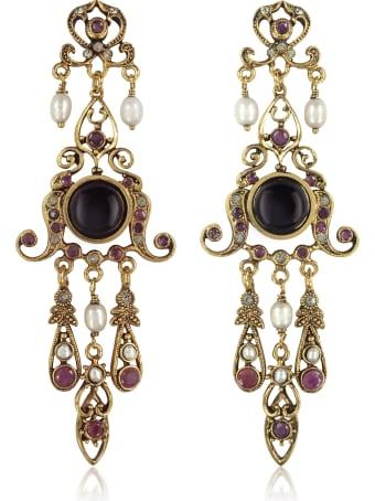 Alcozer & J Chandelier Earrings