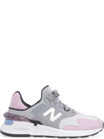 New Balance 997s Techno Fabric And Suede Sneakers
