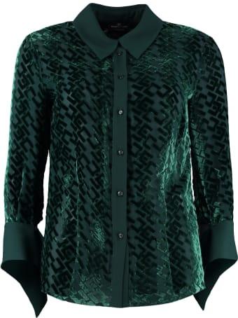Elisabetta Franchi Celyn B. Transparent Fabric Shirt