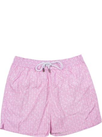 Joelury Pink Swim Trunks