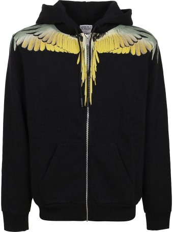 Marcelo Burlon Wings Regular Zip Hoodie
