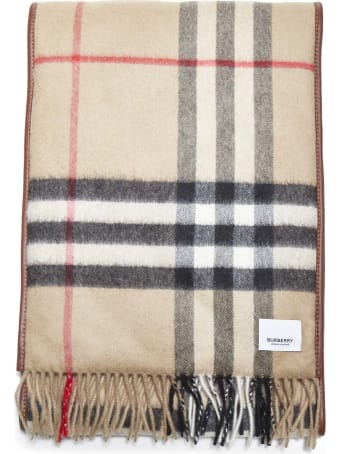 Burberry Qltd Giant Check Scarf