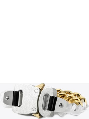 1017 ALYX 9SM Transparent Chain And Metal Bracelet