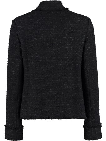 Pinko Immortale Cotton Blend Tweed Jacket