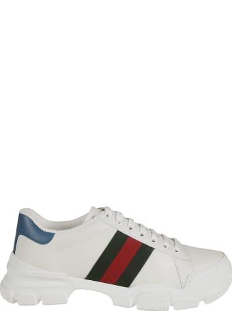 Gucci Web Stripe Detail Sneakers