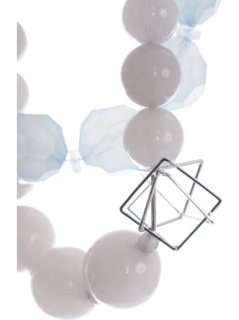 Emporio Armani Necklace Multistring W/pearls