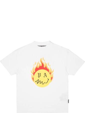 Palm Angels Burning Head T-shirt