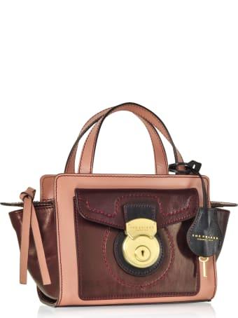 The Bridge Rufina Small Leather Satchel Bag