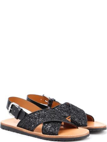 Car Shoe Flat Sandal
