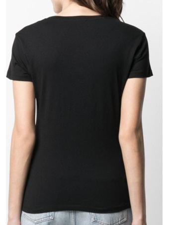 Liu-Jo Jersey T-shirt With Shoes Print