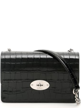 Mulberry Croco Print Leather Small Darley Bag