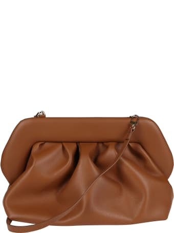 THEMOIRè Brown Faux-leather Clutch Bag