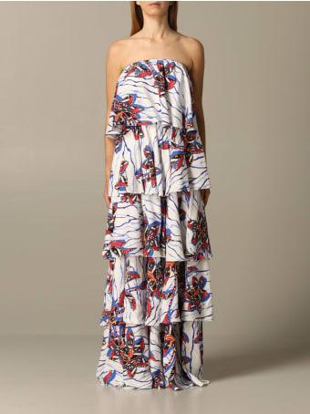 Stella Jean Dress Long Stella Jean Patterned Dress