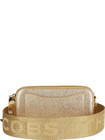 Marc Jacobs Gold-tone Leather Snapshot Crossbody Bag