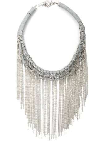 Fabiana Filippi Rubber And Glitter Necklace
