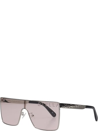 Stella McCartney Sunglasses In Rose-pink Pvc