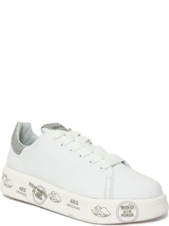 Premiata White Belle Sneaker