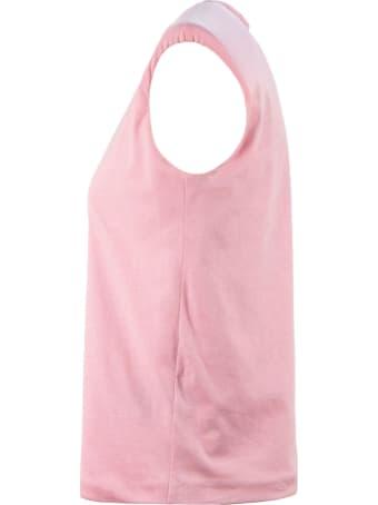Federica Tosi Pink Cotton T-shirt
