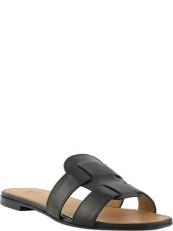 Church's Dee Dee Calf Leather Sandal Black