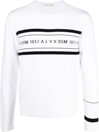 1017 ALYX 9SM White Sweaters