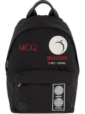 McQ Alexander McQueen Tech Fabric Backpack