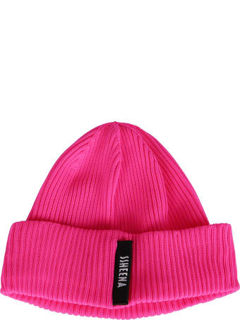SSHEENA Pink Knit Beanie