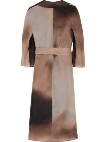 Max Mara Studio Dondolo Silk Coat
