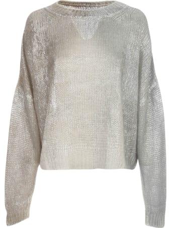 PierAntonioGaspari Laminated Sweater L/s Crew Neck