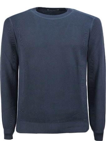 Kangra Grey Cotton Sweater